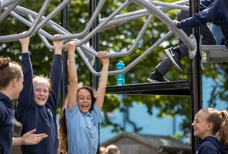 Using Chool Playground Equipment