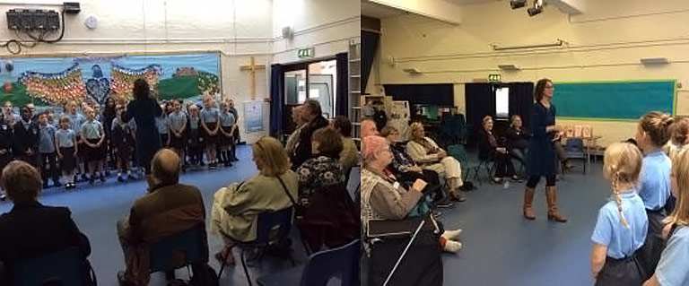 Sing And Soup For The Elderly