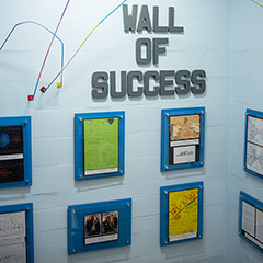 Wall of Success