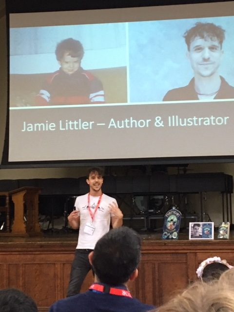 Y3&4 Met The Author Jamie Littler