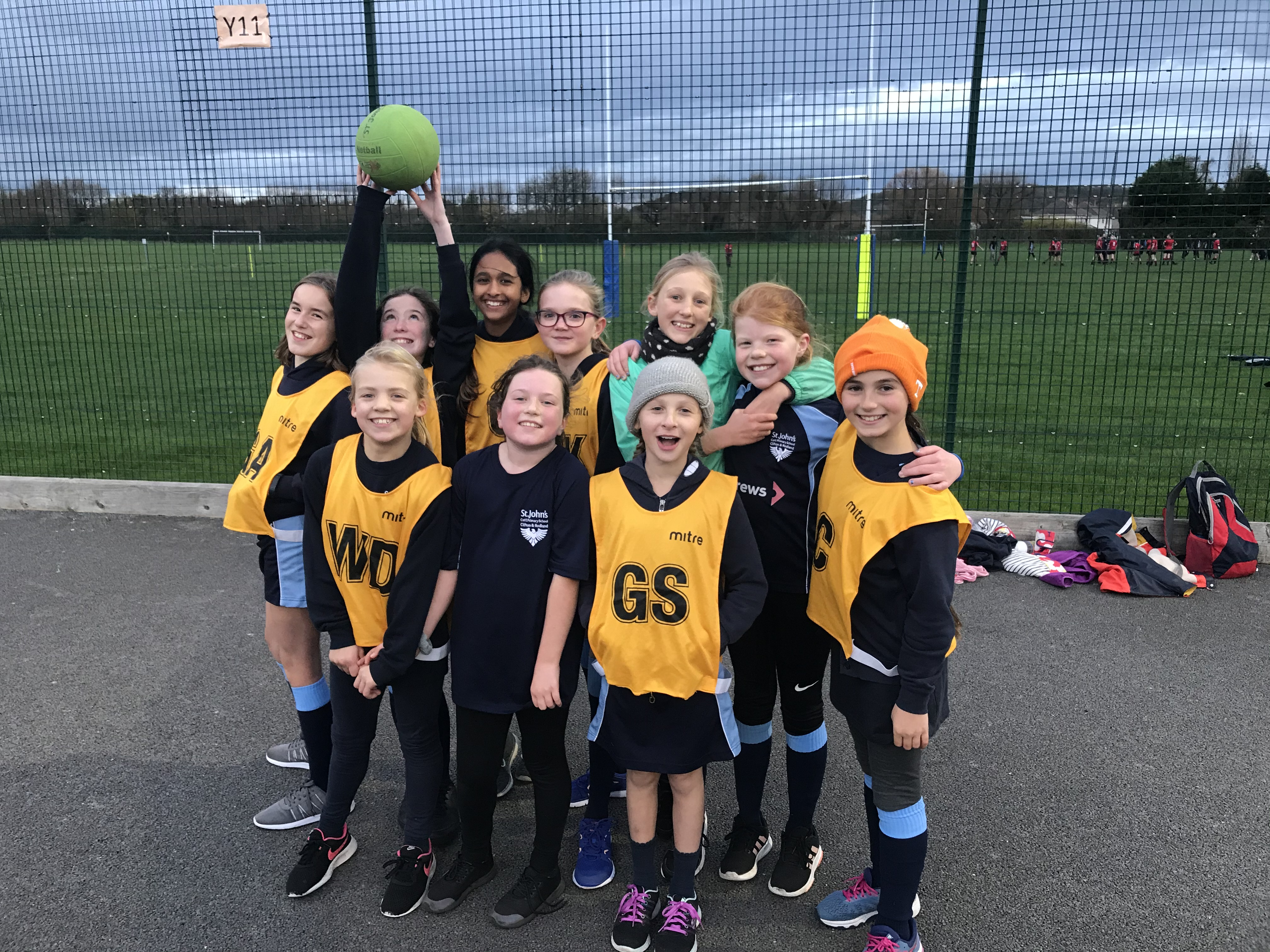 Y5&6 Netball And Football Events